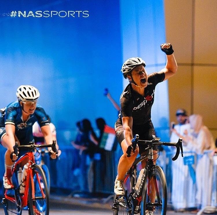 NAS finish line